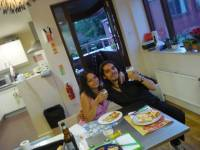 Pizza with Lella